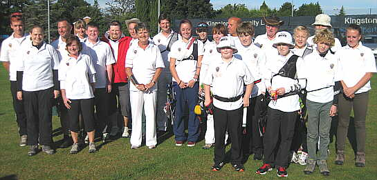 The 2103 inter-counties Sussex Team